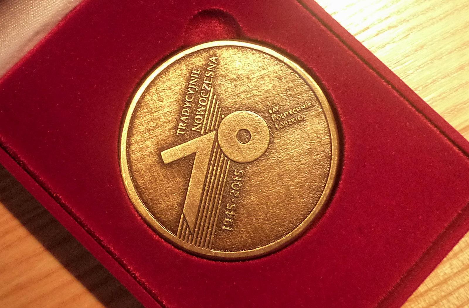 Medale dla PŁ